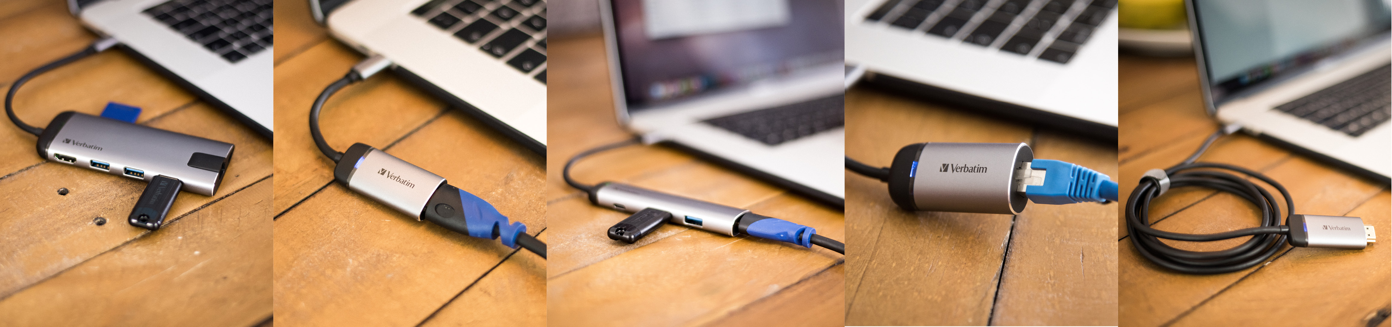 Adaptador USB-C™ Verbatim a Gigabit Ethernet
